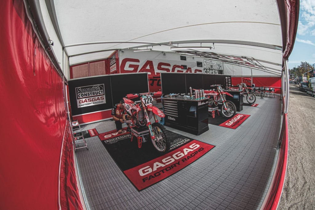 GasGas Team Garage