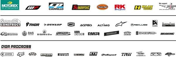 GASGAS TEAM RACING SPONSOR LOGOS