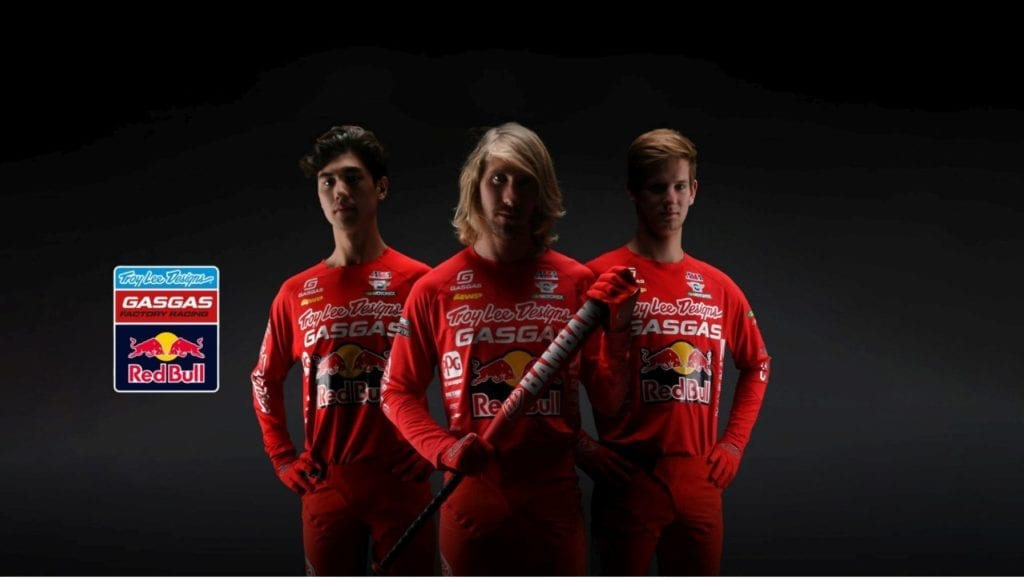 tROY lEE dESIGNS MOTOCROSS TEAM JUSTIN BARCIA, PIERCE BROWN AND MICHAEL MOSIMAN