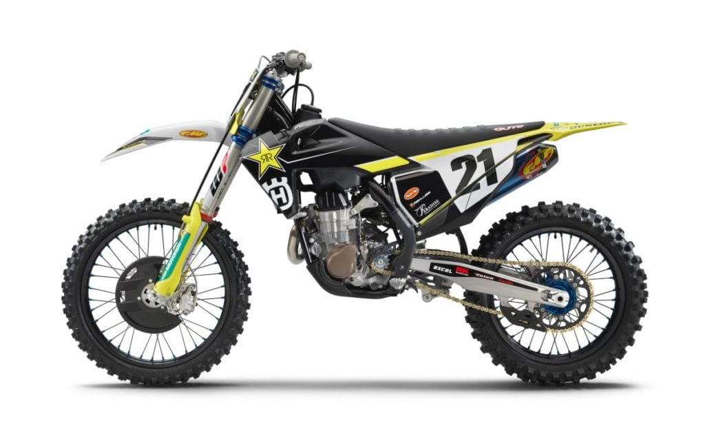 Husqvarna 2021 FC450 Left side