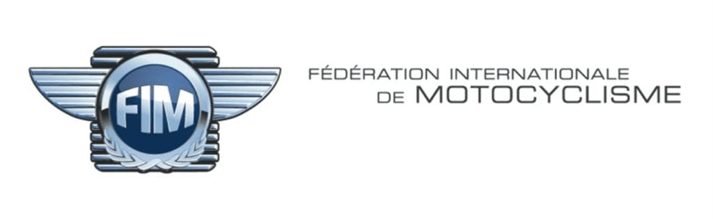 FIM MOTORCYCLE BANNER