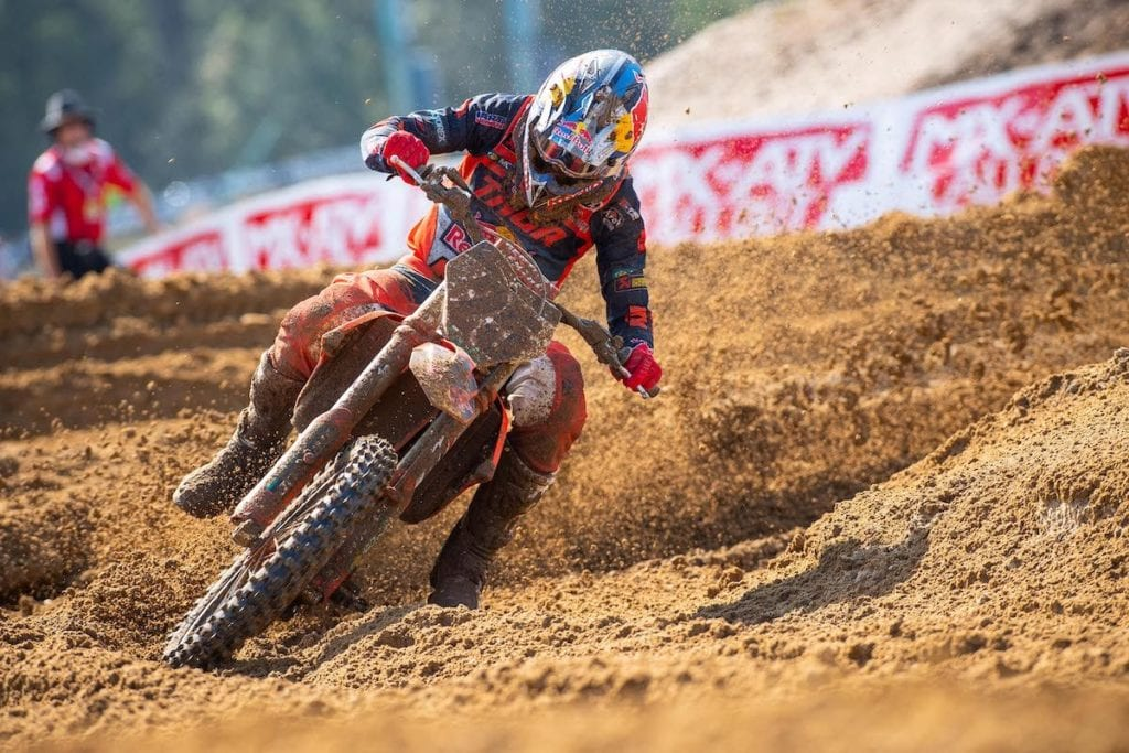"""MX vs ATV All Out is about as close as any player can get to the real thing,""""  Promotocross.com"""