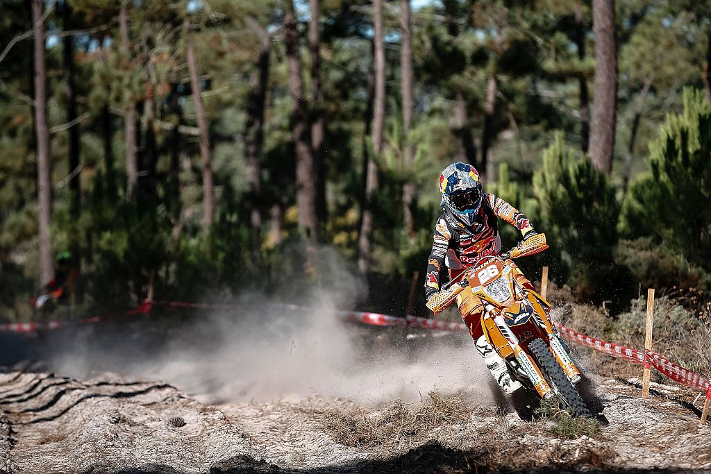 Josep Garcia (KTM) came out swinging on day one